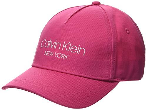 Calvin Klein CK NY BB Cap Gorra de béisbol, Rosa (Scuba Pink Tcv), Talla Única (Talla del Fabricante: OS) para Mujer