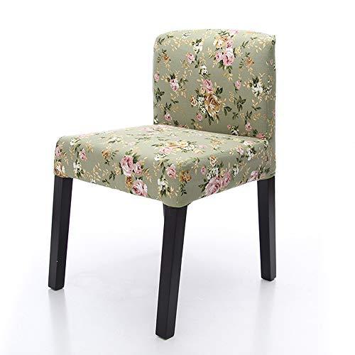 JNZZDQ eettafelstoel van massief hout, moderne, minimalistische, uitneembare en wasbare stoel met lage rugleuning, geschikt voor kleine tafels in cafétafel, Colora