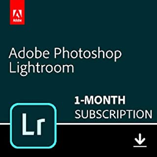 Adobe Lightroom | Photo editing and organizing software | 1-month Subscription with auto-renewal, PC/Mac