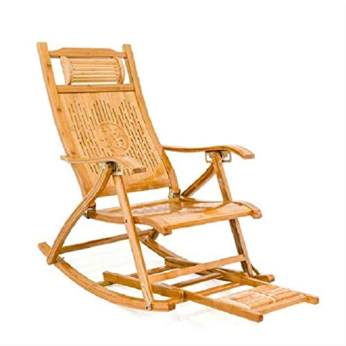 KHFJ Sunloungers Wood Garden Folding Recliner Outdoor Patio Lounger Chairs Zero Gravity Lounge Chairs Beach Chairs with footrest For garden and outdoor (Color, Size : One size)
