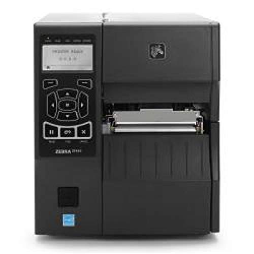 Zebra Zt41043-t0e0000z ZT400Series Printer, UK + Euro cordons d'alimentation, modes de transfert thermique + Direct Rint, USB 2.0, hôte, série, Ethernet 10/100, Bluetooth 2.1, ZPL + EPL Firmware