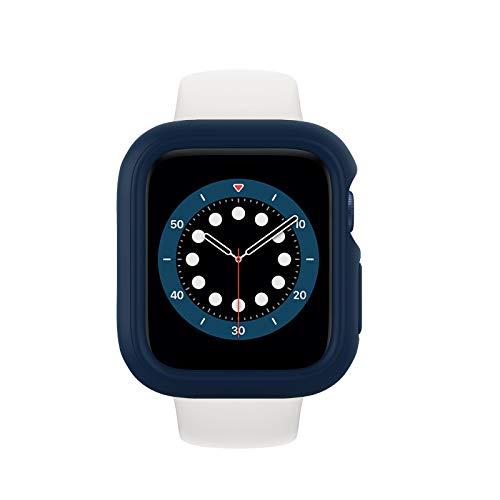 RhinoShield Funda Bumper Compatible con Apple Watch SE & Series 6/5 / 4 - [44mm] | CrashGuard NX - Diseño Compacto con Tecnología Resistente a Impactos de más de 1.2 Metros - Azul Marino