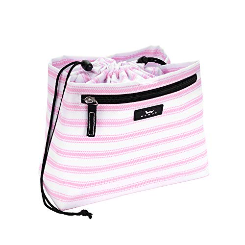 SCOUT Glam Squad Makeup Bag, Water Resistant Makeup Pouch and Toiletry Bag for Women