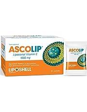 Optimale Liposomale Vitamine C – 30 zakjes – Kern Liposomale Vitamine C 1000mg – Veganistisch & Vegetarisch, Suikervrij & Glutenvrij - Liposome Vitamine C – Ascolip