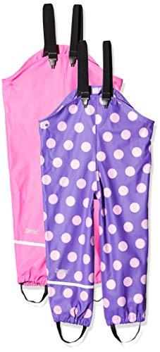 CareTec 550276 Regenhose, Mehrfarbig (Real Pink 5460), Herstellergröße: 92