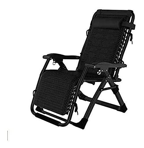 Patio Lounger Chair Zero Gravity Reclinabile Sedia Piscina Patio Lounge Reclinabili Pieghevole Prato Prato Sedie Lounge Zero Gravity Sedia Pieghevole Piscina Pensione Pensione Poltrona 420LBS, Per Gia