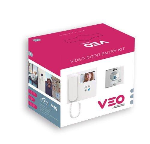 Fermax - Kit de Videoportero VDS A Color Veo de 2 Viviendas