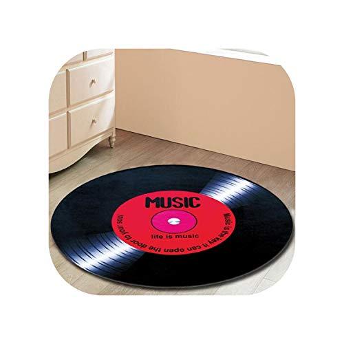 Hotmoment-uk, tappeto rotondo per bambini, tappeto per la stanza dei bambini, per la casa, il soggiorno, per il soggiorno moderno, 01,120 cm x 120 cm