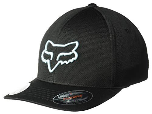Fox Herren Lithotype Flexfit HAT Baseball Cap, schwarz/blau, L/XL