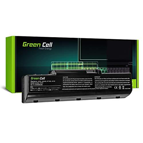Green Cell® Standard Serie AS07A31 AS07A41 AS07A51 AS07A71 Laptop Akku für eMachines D520 D720 (6 Zellen 4400mAh 11.1V Schwarz)