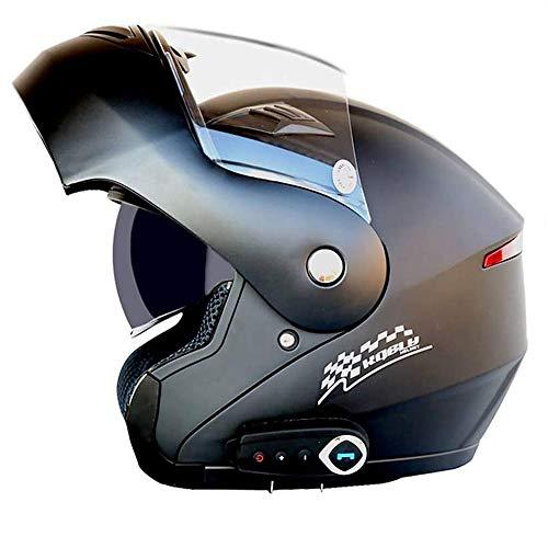 LOOSE Bluetooth Integrado Modular Casco de la Motocicleta ECE 22.05 certificación Dot Seguridad estándar-Cara Completa Racing Casco de la Motocicleta General