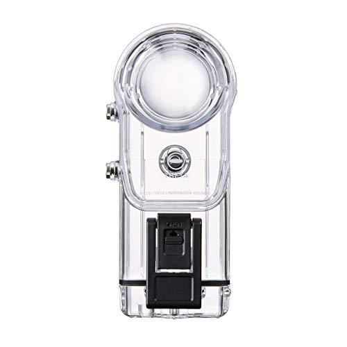 catyrre Action Kamera Wasserdicht Acryl Cover Shell 30M Tauchgehäuse Kompatibel Mit Ricoh Theta V/Theta S / Sc360 - Transparent