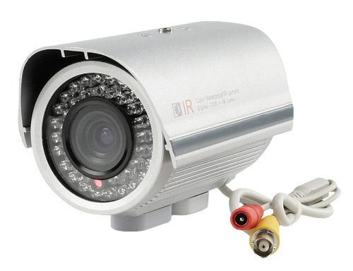 Konig SEC-CAM35, Telecamera CCTV a colori per esterno professionale in alloggiamento impermeabile con lente varifocale