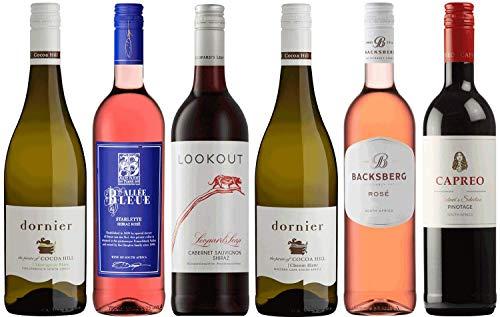 CAPREO Südafrika Entdecker Paket | Weinpaket mit Weinen aus Südafrika (6 x 750ml)
