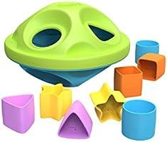 Green Toys Shape Sorter, Green/Blue