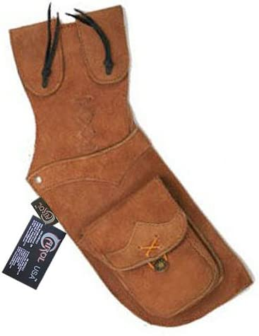 Atlanta Mall Carol TRADITIONAL SUEDE LEATHER SIDE AQ112 QUIVER HIP WAIST BELT New mail order