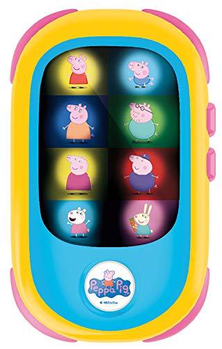 Liscianigiochi- Peppa Pig Baby - Smartphone LED (80229)