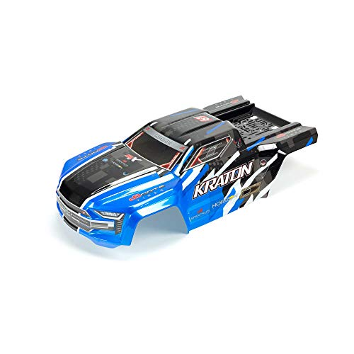 ARRMA Painted, Decaled and Trimmed Body, Blue: Kraton 6S BLX, ARA406157