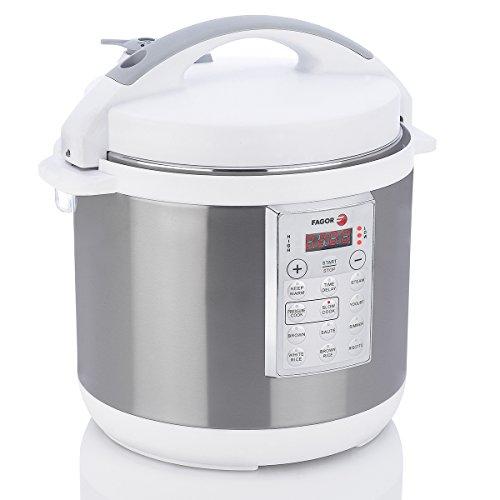 Fagor LUX Multicooker 935010037, 6 qt, White