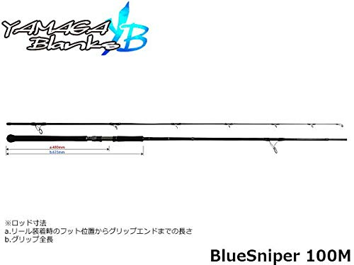 YAMAGA Blanks(ヤマガブランクス) BlueSniper(ブルースナイパー) 100M