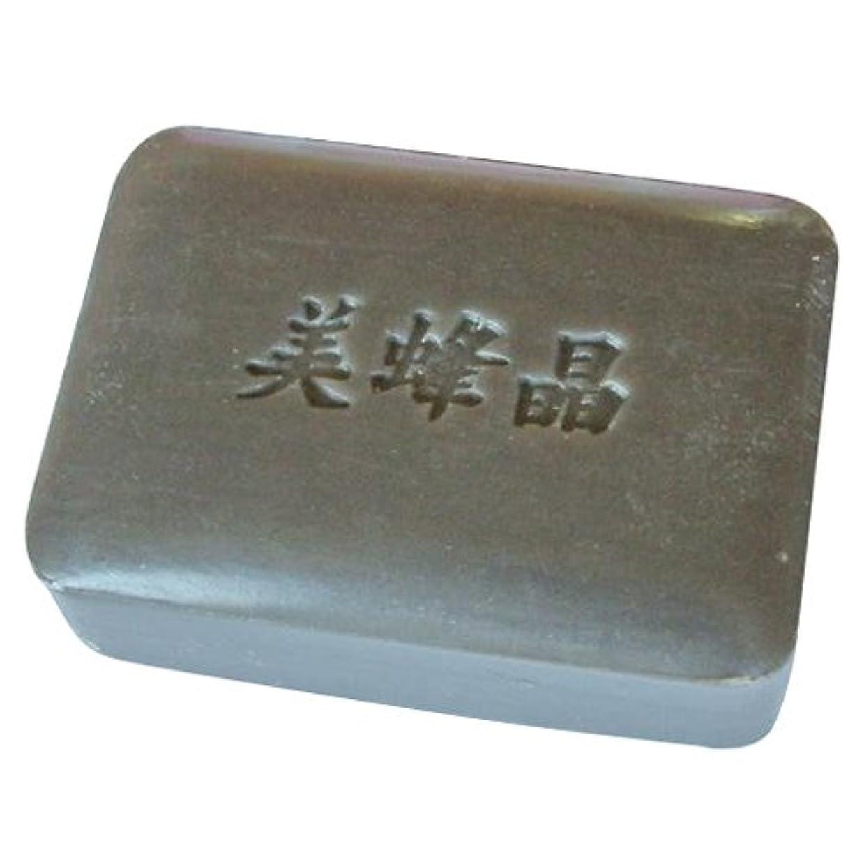 浴ソース検査官鈴木養蜂場 プロポリス石鹸 美蜂晶100g 2個セット