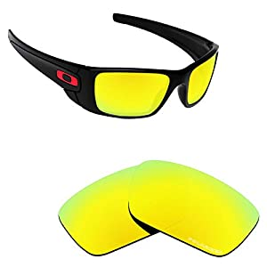 Alphax Polarized Replacement Lenses for Oakley Fuel Cell OO9096 – Multiple Options