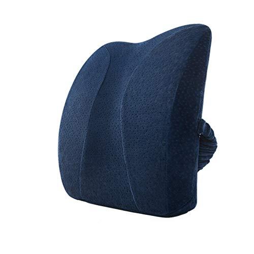 Jinmi Seat Cushions Chair Pad Cushins Lumbar Support Pillow Back Cushion Ergonomic Back Support Pillow Best Lower Back Support Pillow Cushion Orthopedic Back Pillow Natural Latex Office