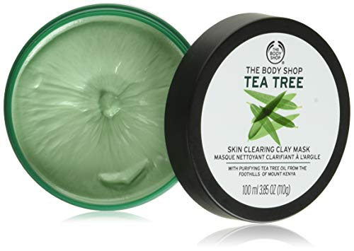 The Body Shop 1092184 Tea Tree Skin Clearing Clay Face Mask, 3.85 Oz