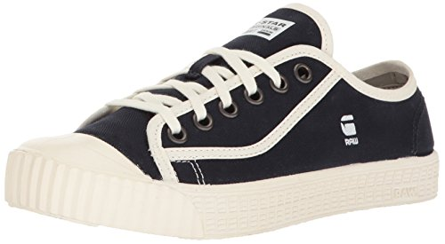 G-STAR RAW Herren Rovulc Denim Low Sneakers Sneaker, Blau (Dark Navy 881), 42 EU
