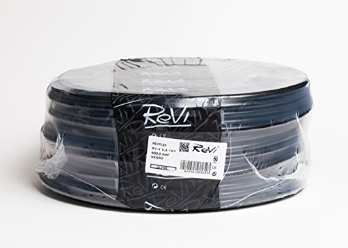 Cable RV-K 0,6/1kV 4x2,5mm 50m (Negro)