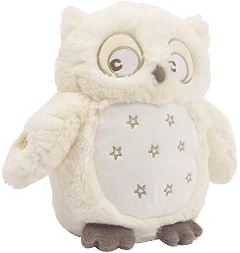 Linzy Plush Soft Dreams Owl with Lullaby & Night Light, 10', Cream