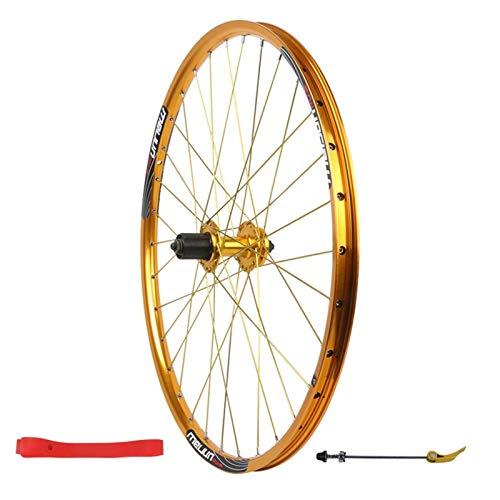 TYXTYX Ejes de liberación rápida Accesorio para Bicicleta Rueda Trasera de Bicicleta de 26 Pulgadas Llanta de Bicicleta de aleación de Doble Pared Freno de Disco de liberación rápida MTB 7 8 9 10 V