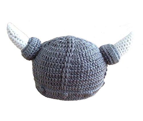 Viskey-Manoplas para bebé recién nacido Gorro y Bufanda de punto para bebé Style-2