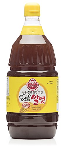 Ottogi Korean 100% Rice Syrup, 88 Ounces (Jocheong, Yetnal Ssalyeot)