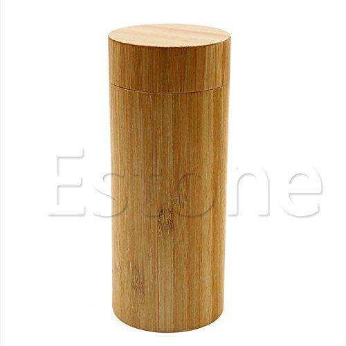 Siwetg Fashion heren dames handgemaakt bamboe zonnebril houten frame brillenkoker