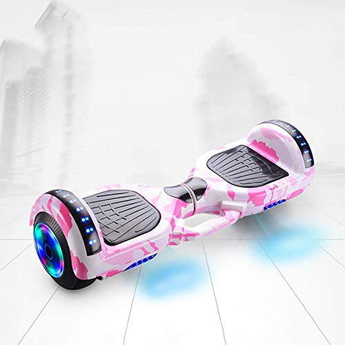 BBGSFDC Smart Balance Wheel Hoverboard Skateboard Monopatín Eléctrico Unicycle Drift Self-Equilibrio Scooter...