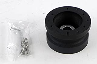 Crowder`s LLC Marine Boat Steering Wheel Hub Adapter for MOMO Nardi NRG Sparco OMP - 3/4 inch Taper Single Keyway / 19mm (0.75 inches) to 17mm (0.67 inches) Tapered Hole with 1 Keyway - Part # 5272/4