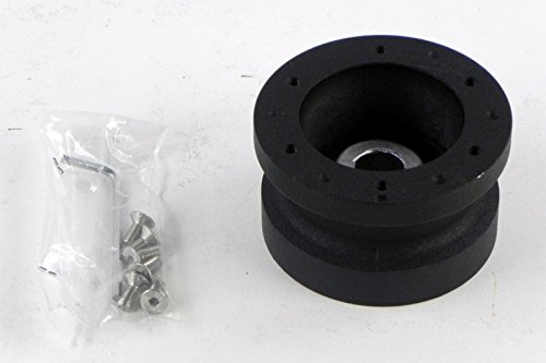 Crowder's LLC Marine Boat Steering Wheel Hub Adapter for MOMO Nardi NRG Sparco OMP - 3/4 inch Taper Single Keyway / 19mm (0.75 inches) to 17mm (0.67 inches) Tapered Hole with 1 Keyway - Part # 5272/4
