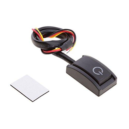 MagiDeal Mini-Schalter für Nachrüsten Universal Druckschalter EIN/Aus Schalter