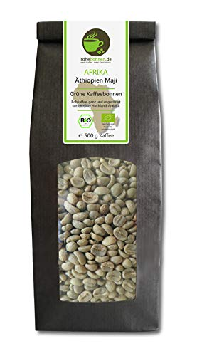 Bio Rohkaffee Arabica Äthiopien Maji 500g