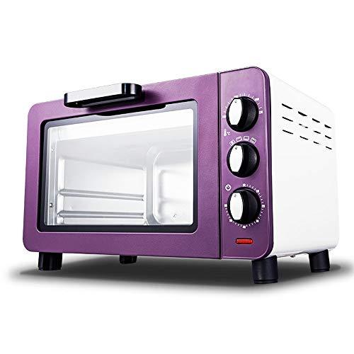 W-WXT Traitement à la vapeur d'épaississement et la cuisson multifonctions intégrée four avec contrôle de température réglable et fonction de minuterie (Color : Purple)