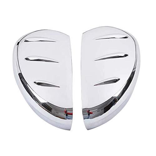 Für Kuga 2020 ABS Rückfahrkamera Seite Tür Spiegel Verkleidung 2 Stück Auto Style Zubehör (Glänzendes Chrom)