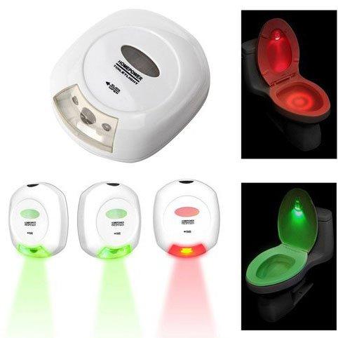 FomCcu Lampe LED intelligente pour abattant WC avec détecteur de mouvement