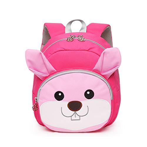 PROTAURI Kleinkind Kinder Schultasche, Animal Design Kinderrucksack, Baby Rucksack für 2-5 Jahre alt