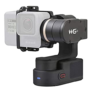FeiyuTech WG2 3-Axis Wearable Gimbal, Suitable for Action Camera GoPro Hero 5, HERO 4, Session, Yi 4K, AEE, SJCam etc. IP67 Waterproof, Autorotation, Two Axis Unlimited Rotating, Bluetooth Control (B071L93YDV)   Amazon price tracker / tracking, Amazon price history charts, Amazon price watches, Amazon price drop alerts