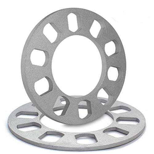 Universal Wheel Spacer - Die Cast Aluminum - 4/5 Lug (100mm/4.25-120mm/4.75)(5mm or 13/16)