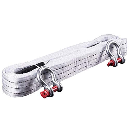 Read About AJZGF Tow Rope Winch Rope Tow Rope car, 5Maters 18Ton Trailers with high Strength, with T...