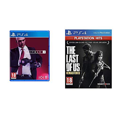 Hitman 2 (PS4) & The Last of Us Remastered - PlayStation Hits, Version physique, En français, Mode multijoueur, 1 Joueur