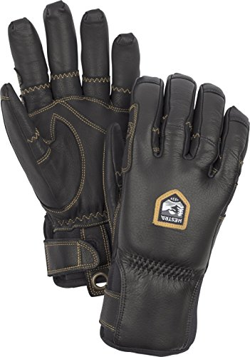Hestra Ergo Grip Gants inclinables L Noir/Noir