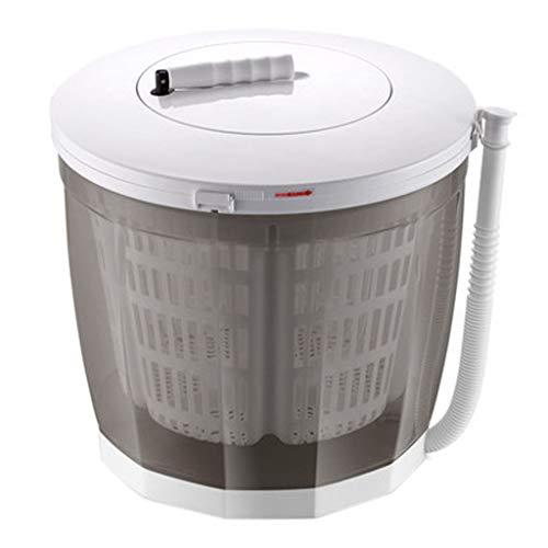 A Washing Machine Rondella di Vestiti Portatile, Vestiti Manuali A Manovella Lavatrice Non Elettrica E Centrifuga, Lavatrice Asciugatrice da Appoggio per Campeggio, Appartamenti O Delicati
